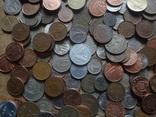 Супер- Гора монет с нашими и зарубежными (615 штук.) фото 8