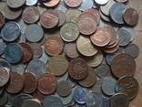Супер- Гора монет с нашими и зарубежными (615 штук.) фото 9