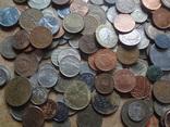 Супер- Гора монет с нашими и зарубежными (615 штук.) фото 10