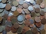 Супер- Гора монет с нашими и зарубежными (615 штук.) фото 12