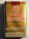 Сигареты DOUBLE HAPPINESS мягкая пачка фото 1