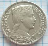 5 латов, Латвия, 1932г., фото №2