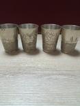 Рюмочки Серебро 925* 4 штуки