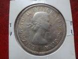 1 доллар  1963  Канада  серебро   (,7.6.9)~, фото №3
