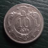 10 геллеров 1910  Австро-Венгрия   (R.5.23)~, фото №2