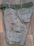 California - фирменные защитные шорты с ремнем, фото №6