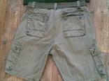 California - фирменные защитные шорты с ремнем, фото №7