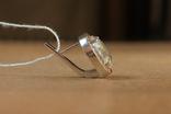 Серьги серебро, золото, фото №3