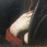 Старинная картина, XVIII век, фото №4