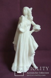 Скульптура- Девушка. Золушка на балу. Пластик - полиуретан СССР 60-е годы., фото №2