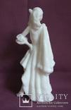 Скульптура- Девушка. Золушка на балу. Пластик - полиуретан СССР 60-е годы., фото №5