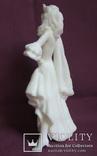 Скульптура- Девушка. Золушка на балу. Пластик - полиуретан СССР 60-е годы., фото №6