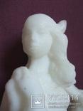 Скульптура- Девушка. Золушка на балу. Пластик - полиуретан СССР 60-е годы., фото №9