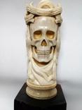 Статуетка з кості ,,Memento mori,,, фото №2