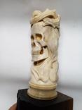 Статуетка з кості ,,Memento mori,,, фото №3