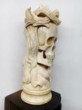 Статуетка з кості ,,Memento mori,,, фото №8