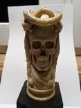 Статуетка з кості ,,Memento mori,,, фото №13