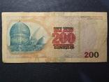 Казахстан 200 тенге 1999 року фото 2