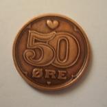 Дания 50 эре 2003 года., фото №2