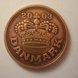 Дания 50 эре 2003 года., фото №5