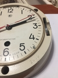 Корабельные часы СССР антимагнитные, фото №10