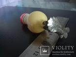 Ёлачная игрушка сосулька прищепка, фото №6