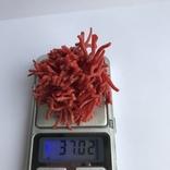 Коралловые бусы, 37 грамм, фото №6