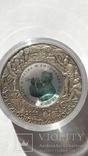 10 злотых 2008 года. 400-летие Польского поселения в Северной Америке. Серебро., фото №6