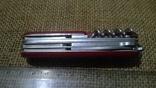 Huntsman  red.VICTORINOX.Старая модель.Швейцарский.Армейский.Нож.Ніж.Червоний., фото №11
