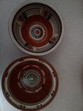 4 глибокі розписні тарілки, фото №5