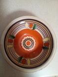 4 глибокі розписні тарілки, фото №7