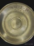 Чашка и блюдце серебро 875* фото 4