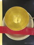 Чашка и блюдце серебро 875* фото 8