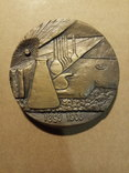 Настільна медаль Пьєр Кюрі 1986 фото 2