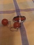 Кольцо и серьги, фото №3