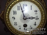 Большие, старые каминные часы. (Франция), фото №4