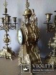 Большие, старые каминные часы. (Франция), фото №6