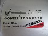 Пневмоциліндр CAMOZZI 60M2L125A0170, фото №3