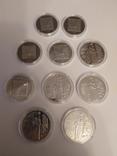 Лот із 10 монет НБУ 2019 року 5 шт. Малевич та 5 шт. 100 років капеллі Думка, фото №3