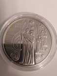 Лот із 10 монет НБУ 2019 року 5 шт. Малевич та 5 шт. 100 років капеллі Думка, фото №5