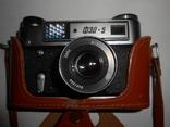 Фотоаппарат ФЭД 5в И-61 л/д 2,8/53 №9481694, фото №2