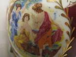 Большая шкатулка - яйцо - Франция? - высота 15,5 см., фото №10