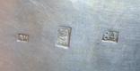 Табакерка 1866 г серебро 84 проба Россия 128 гр, фото №8