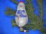 Елочная игрушка еж, фото №2
