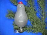 Елочная игрушка еж, фото №3