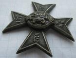 Полковик 137 Нежинский полк Белый металл, фото №5