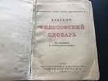 1939 Философский словарь, фото №2