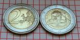 Италия 2 евро, 2015, 750 лет со дня рождения Данте Алигьери, фото №3