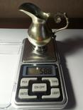 Миниатюрный кувшинчик для сливок, фото №6