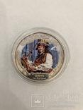 2 доллара Серебро 1 oz., фото №2